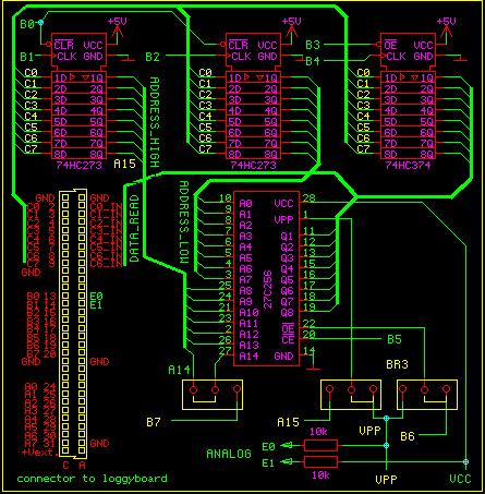 68HC11 programms eproms 27C64 to 27C512