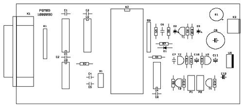 Atmel 89C Series Flash Microcontroller Programmer