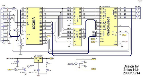 Atmel 8051 Flash Based-Microcontroller Programmer
