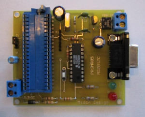Programmer for the 68HC705C8 MicroController