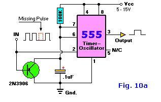 Basic Missing Pulse Detector