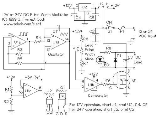 PWM Motor/Light Controller