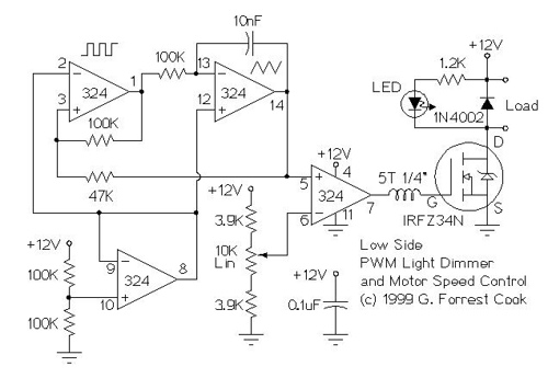 PWM Motor/Light Controller Variations