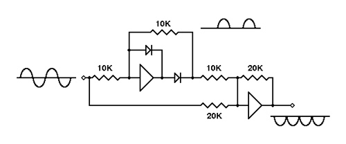 A Precision Full-Wave Rectifier