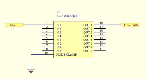 10 relay board for LPT-16-0