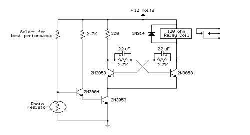 Light Activated Relay