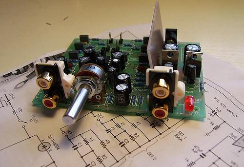 DIY MM Phono Preamplifier Kit
