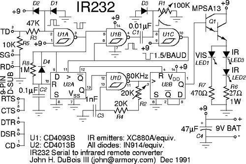 A Serial Infrared Remote Controller