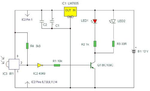 IR remote control extender – II