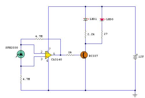 IR remote control extender – I