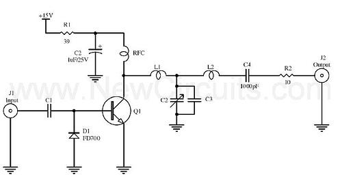 1 Watt C-Class RF Amplifier