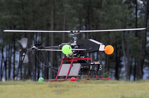 MARVIN – An Autonomously Operating Flying Robot