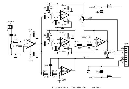 3-Way Active Loudspeaker