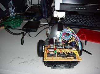 A Maze Vacuum Robot