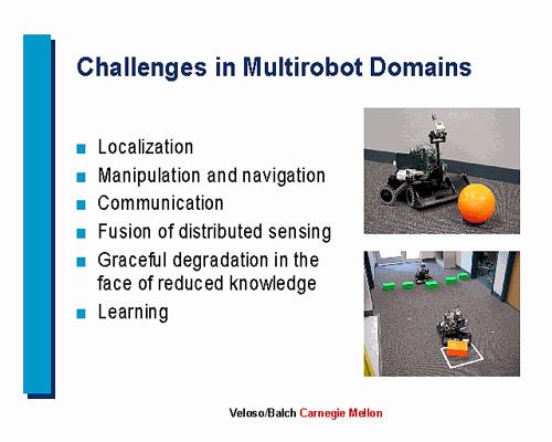 CMU Mobile Autonomous Robot Software