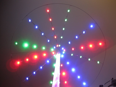LED Umbrella For Grass