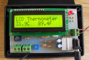 Thermistor Thermometer: LCD version