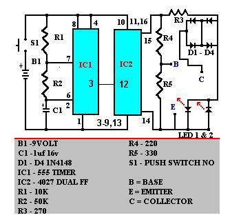In Circuit Transistor Checker