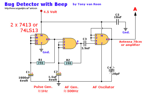 Bug Detector with Beep