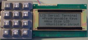 LCD Serial Terminal