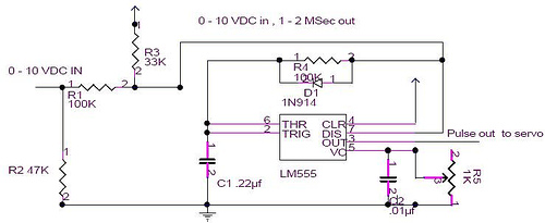 Controlling Hobby Servos with 0-10 volts