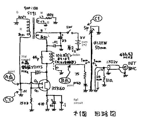 UHF signal genarator