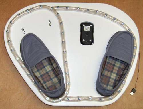 foot operated computer mouse