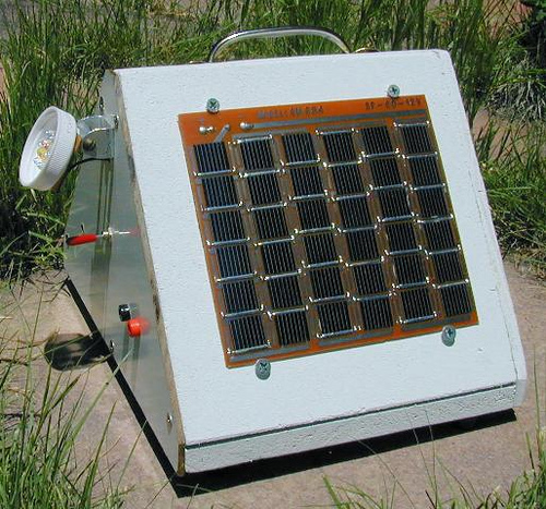 Solar Charged LED Utility Light
