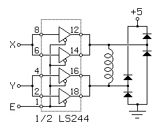 Basic Stepping Motor Control Circuits