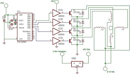 First Stepper Circuit