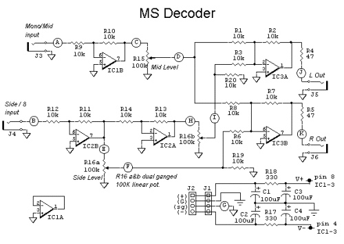 MS Stereo Decoder