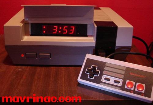 NES Alarm Clock