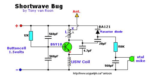 Micro Spy With USW