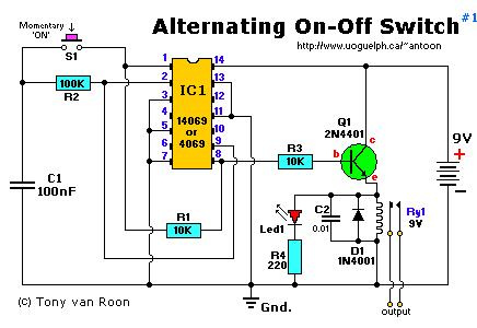 Alternating On-Off Switch
