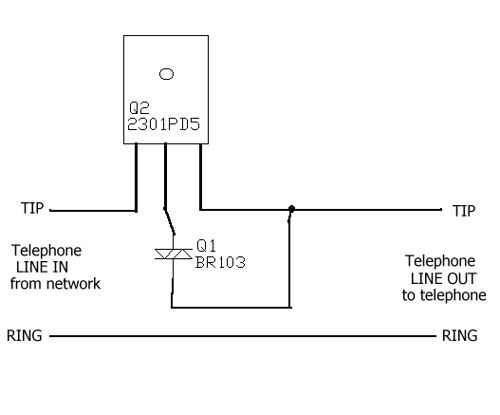 Telephone privacy adapter