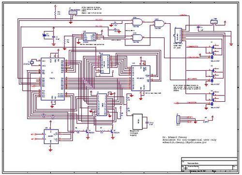 Thermostat node schematic