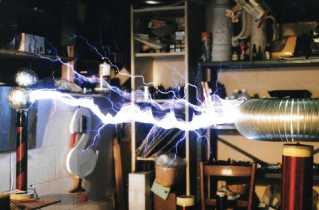 Mike Hammer's Tesla Coil