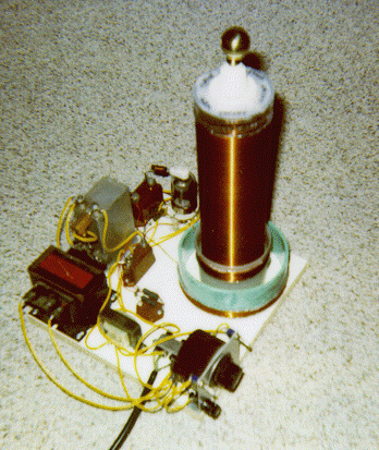 Miniature Vacuum Tube Tesla Coil