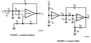 Component Pre-Distortion for Sallen-Key filters