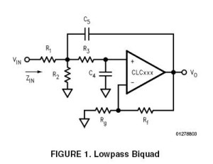 Low-Sensitivity, Lowpass Filter Design