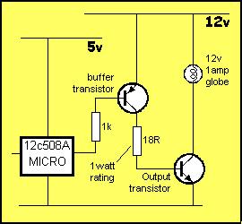 Interfacing the PIC16C508