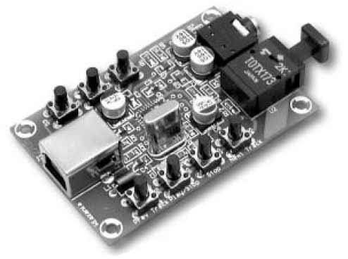 PCM2706 High Fidelity USB Soundcard or USB Headphones