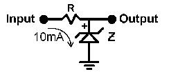Zener Voltage Regulator Calculator