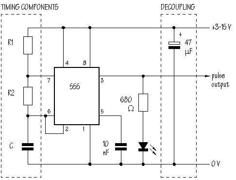 555 timer IC information page