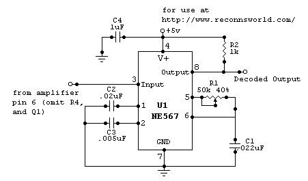 Tone detector