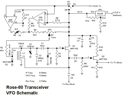 Build a 5 watt, 80 meter QRP CW Transceiver