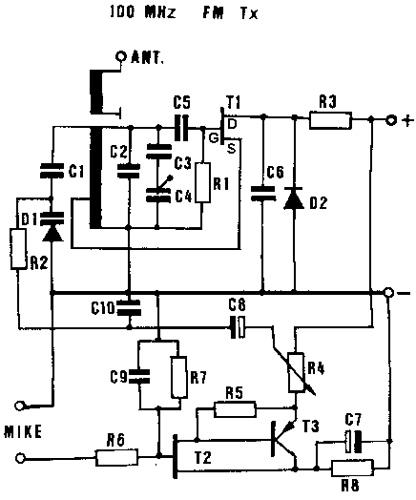 Small Radio Transmitter
