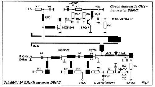 Transistorized 24GHz transverter