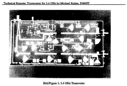Transverter for 3.4 Ghz