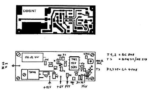 Transverter for 47 Ghz